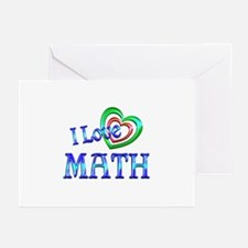 I Love Math Greeting Cards (Pk of 20)