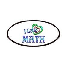 I Love Math Patches