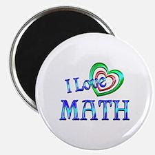 "I Love Math 2.25"" Magnet (10 pack)"