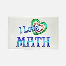 I Love Math Rectangle Magnet