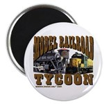 """Train / Model RR Tycoon 2.25"""" Magnet (100 pack)"""