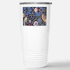 William Morris Strawberry Thief Pattern Travel Mug
