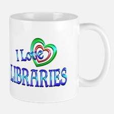 I Love Libraries Mug