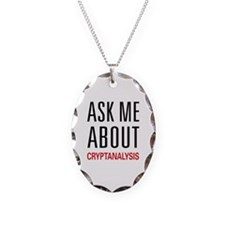 Ask Me About Cryptanalysis Necklace