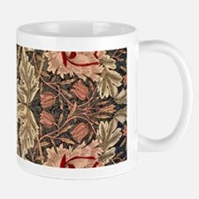 William Morris Honeysuckle Design Mugs