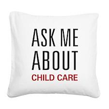 askchild.png Square Canvas Pillow