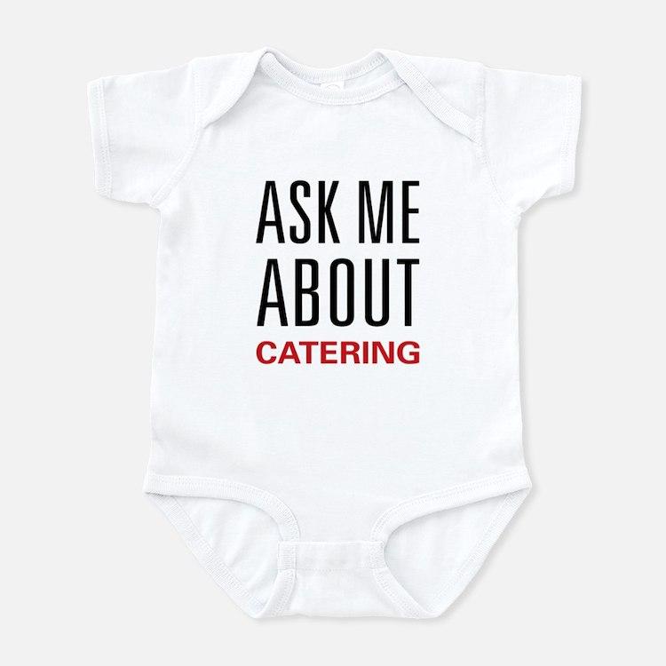 Ask Me Catering Infant Bodysuit
