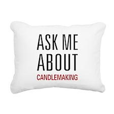 askcandle.png Rectangular Canvas Pillow