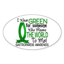 Gastroparesis Means World to Me 1 Decal