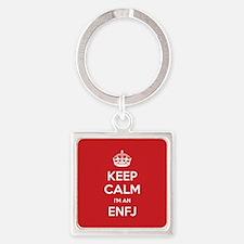 Keep Calm Im An ENFJ Keychains