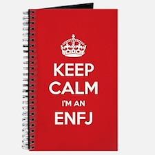 Keep Calm Im An ENFJ Journal