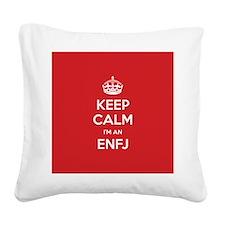 Keep Calm Im An ENFJ Square Canvas Pillow