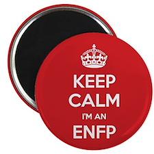 Keep Calm Im An ENFP Magnets