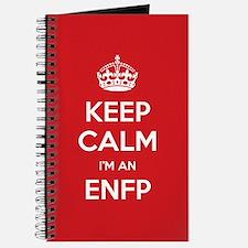 Keep Calm Im An ENFP Journal
