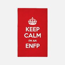Keep Calm Im An ENFP 3'x5' Area Rug