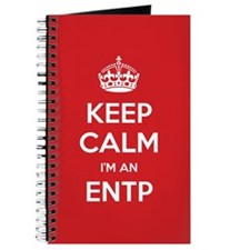 Keep Calm Im An ENTP Journal