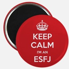 Keep Calm Im An ESFJ Magnets