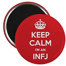 Keep Calm Im An INFJ Magnets