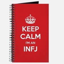 Keep Calm Im An INFJ Journal