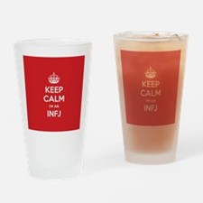Keep Calm Im An INFJ Drinking Glass