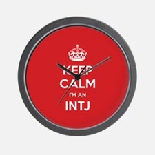Keep Calm Im An INTJ Wall Clock