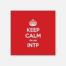 Keep Calm Im An INTP Sticker