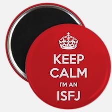 Keep Calm Im An ISFJ Magnets