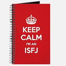 Keep Calm Im An ISFJ Journal