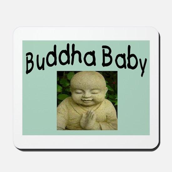 BUDDHA BABY 2 Mousepad