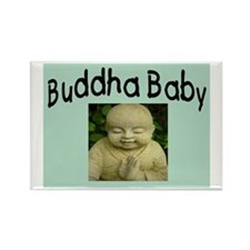 BUDDHA BABY 2 Rectangle Magnet