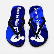 1st Place Swimmer Flip Flops