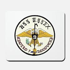 USS Essex Apollo 7 Recovery Mousepad