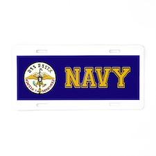 USS Yorktown Apollo 7 Aluminum License Plate
