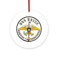 USS Essex Apollo 7 Recovery Ornament (Round)