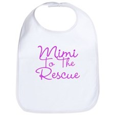 Mimi To The Rescue Bib