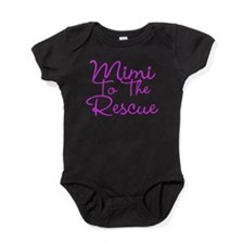 Mimi To The Rescue Baby Bodysuit