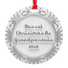 1St Christmas As Grandparents 2020 Ornament