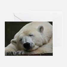 Polar bear 011 Greeting Card