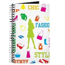 Fashion chic shopping design Journal