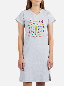 Fashion chic shopping design Women's Nightshirt