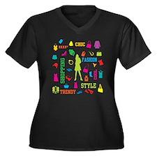 Fashion chic shopping design Plus Size T-Shirt
