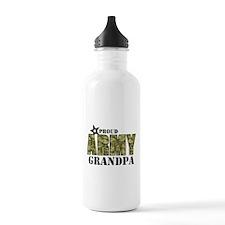 Camo Proud Army Grandp Water Bottle