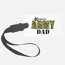Camo Proud Army Dad Luggage Tag