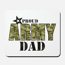 Camo Proud Army Dad Mousepad