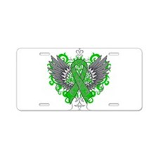 TBI Wings Aluminum License Plate