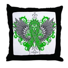 TBI Wings Throw Pillow