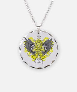 Suicide Prevention Wings Necklace