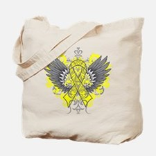 Suicide Prevention Wings Tote Bag