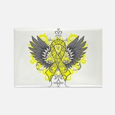 Suicide Prevention Wings Rectangle Magnet