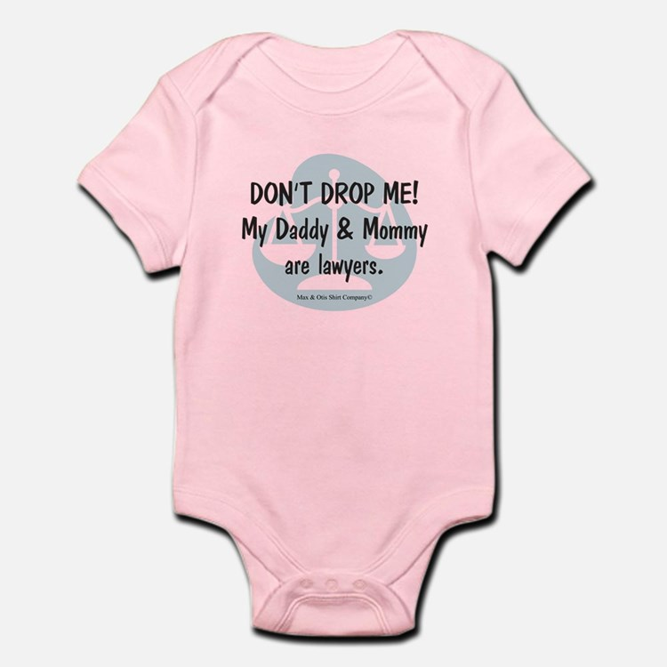 Daddy & Mommy Lawyers Infant Bodysuit